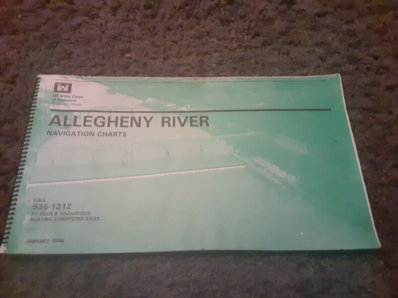 Allegheny River Navigation Charts 1994 U.S. Army Corps of Engineers