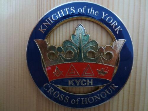 Masonic Auto Car Badge Emblems E17 KNIGHTS of the YORK