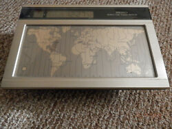 SEIKO World Time Touch Sensor Desk Clock....ful functioning Estate Found NICE!
