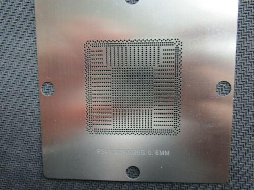 9*9 SONY PS4 GPU CXD90026 G CXD 90026 G CXD90026G BGA Reball Stencil Template