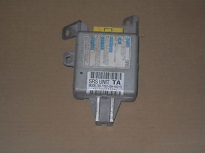 98 99 ACCORD EX 4DR. AIRBAG SRS CONTROL MODULE COMPUTER 77960-S84-A82-M2 OEM