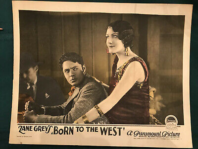 Born To The West 1926 Paramount 11x14