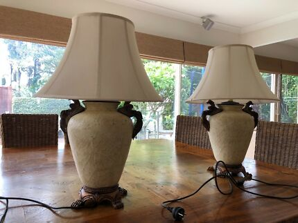 Pair of table lamps in perfect condition