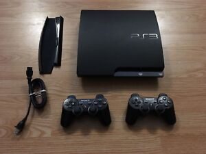 Slim PlayStation 3 and games