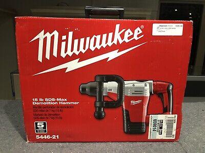 Milwaukee 5446-21 Sds-max Demolition Hammer Open Box