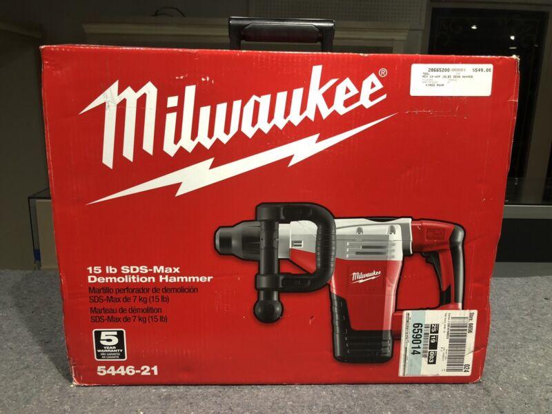 Milwaukee 5446-21 SDS-Max Demolition Hammer *OPEN BOX*