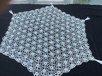 Large Crochet Lace Doily ,Handmade