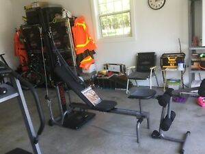 Bowflex Power Pro with Leg Extension