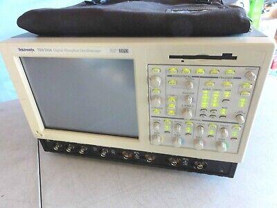 Tektronix Tds7054 500 Mhz 4 Channels 5 Gss Dpo Digital Oscilloscope. Read