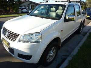 2012 Great wall V200 TURBO DIESEL 6 SPEED MANUAL VERY NICE Greystanes Parramatta Area Preview