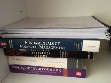 Accounting / Finance Textbooks - MAKE AN OFFER!!!