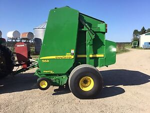 Farm Equipment (Tractor, Baler, and Rotary Disk Mower)