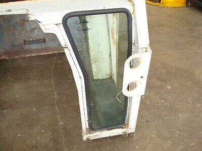 1974 Case 1370 Tractor Cab Left Front Window Glass
