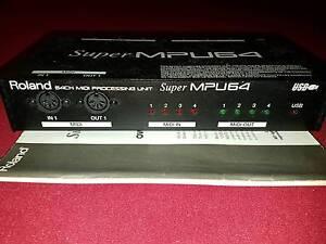 Roland Super MPU 64 Channel MIDI Processing Unit -Great condition Nambour Maroochydore Area Preview