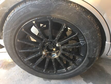 4 rims and tyres for SWAPS