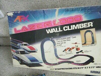 AFX AURORA LAZER 2000 RACE SET RACEWAY NO CARS CAN BE USED WITH OTHER SLOT CARS  for sale  Buffalo