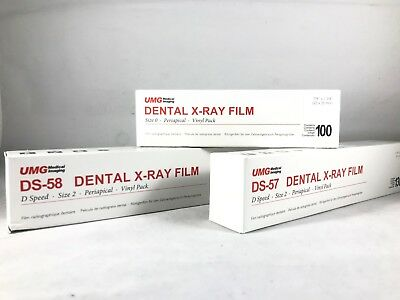 Umg Dental Xray Film Poly Soft D Speed Size 0 Or 2 Single Or Double -fda