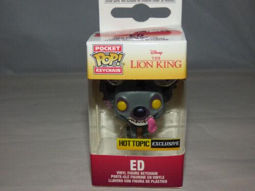Funko Pocket Pop! Keychain - Disney - Ed -  Hot Topic Exclusive