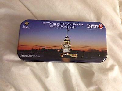 Turkish Airline  Amenities Kit Tin