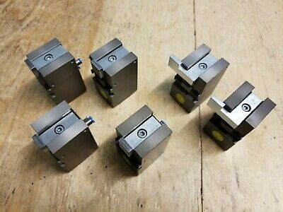 Lot Of 6 Gepruft Pneumatic Automation Stop Block Cylinders