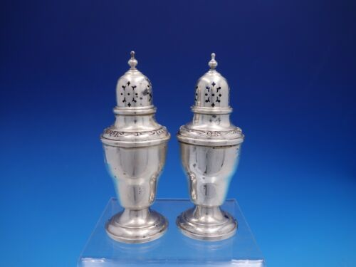 Melrose By Gorham Sterling Silver Salt and Pepper Shakers #1284 (#4162)