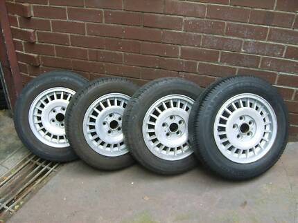 Volvo 240 Sedan - Wagon Mag Wheels/Tyres - Trailer / Holden Myaree Melville Area Preview