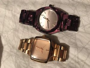 Nixon Women's Watches - Rose Gold and Purple
