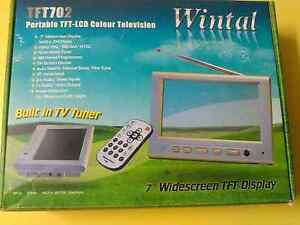 "Wintal 7"" portable tft-lcd colour television Prahran Stonnington Area Preview"
