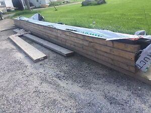 Four (4) Nordic Wood Floor Joists