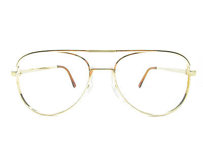 Authentic AMERICAN OPTICAL AO Z87 AVIATOR Eyeglasses Eyewear FRAMES TV6 91010
