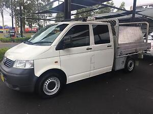 Volkswagen transporter t5 lwb ute 2006 manual turbo diesel Beaumont Hills The Hills District Preview