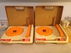 Vintage 1978 Fisher Price Record Player, One Left