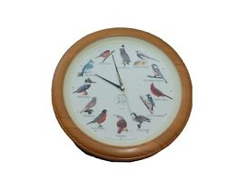 National Audubon Society Singing Bird Clock