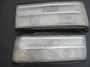HONDA CIVIC SH4 EF2 90 91 All Clear New Taillights Lenses SIR 4DR TAIL LIGHTS