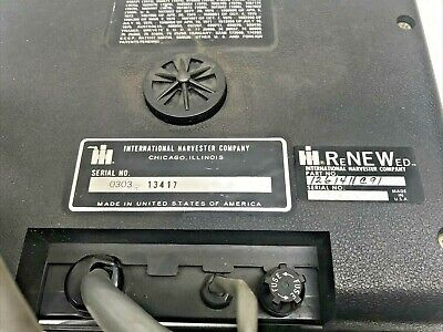 Case Ih Nos Planter 800 Seed Flow Monitor Attachment 1261411c91