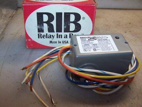 NEW FUNCTIONAL DEVICES MULTI-VOLTAGE RELAY RIBU1C