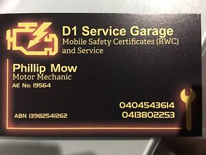 Mobile mechanic (D1 Service Garage) Coomera Gold Coast North Preview