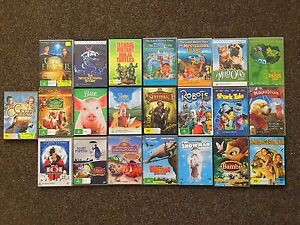 22 CHILDRENS MOVIES!! (DISK ARE IN GREAT CONDITION) Heritage Park Logan Area Preview