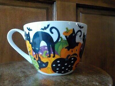 Cute Halloween Pumpkin Designs (Portobello By Design Halloween Black Cats Pumpkins Too cute to Spook Large)