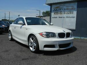 BMW 135I 2010 ***MAGS,CUIR,TOIT OUVRANT+++FINANCEMENT FACILE+++