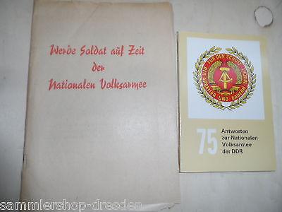 20023 75 Antworten zur Nationalen Volksarmee der DDR NVA Werde Soldat auf Zeit