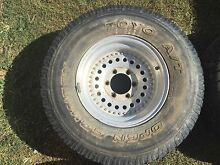 4 x Alloy Riveted Rims Came off Hilux Yeppoon Yeppoon Area Preview