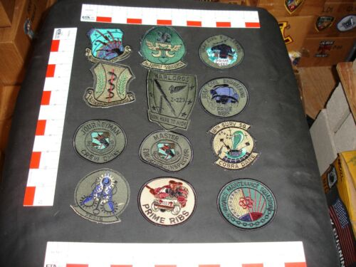 US Air Force Patch Collection 12 patches