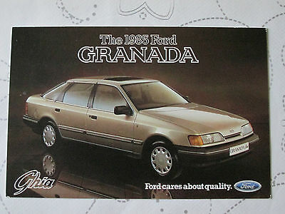 1985 FORD GRANADA GHIA POSTCARD REF NO SP 268