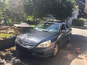 2007 Honda Accord, 4cyl, manual