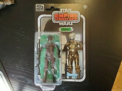 Retro vintage kenner hasbro carded black series 4-lom zuckuss 6 inch