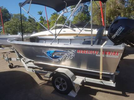 QUALITY 4.29m Plate Alloy Boat/Motor/Trailer Package from $9990