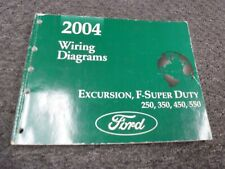 2004 Ford F250 Super Duty Truck Electrical Wiring Diagrams ...
