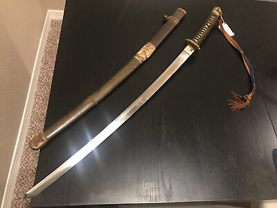 WWII Japanese Sword Philippines w/ Provenance!