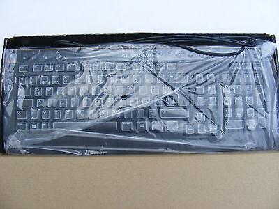 Genuine Ex Display DELL Alienware USB Keyboard  German Qwertz Layout JNG43